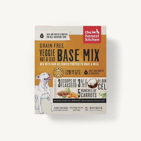Dehydrated - Grain-Free Veggie, Nut & Seed Base Mix - PetProductDelivery.com