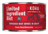 Limited Ingredient Diet Shredded Beef Entrée in Gravy Wet Cat Food
