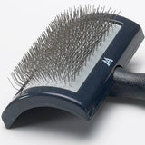 Professional Curved Slicker Brush with Unbreakable Handle - PetProductDelivery.com