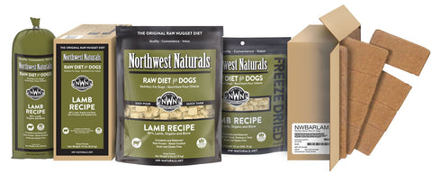 Freeze Dried Nuggets Lamb Recipe Raw Diet for Dogs