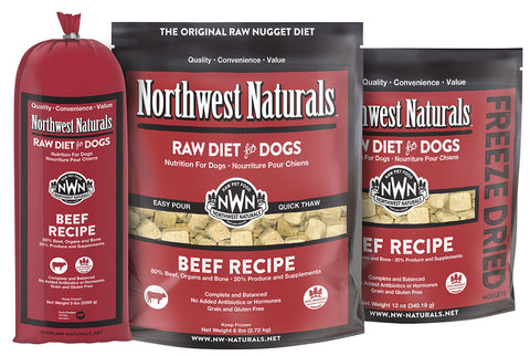 Freeze Dried Nuggets Beef Recipe Raw Diet for Dogs