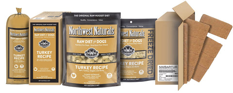 Freeze Dried Nuggets Turkey Recipe Raw Diet for Dogs