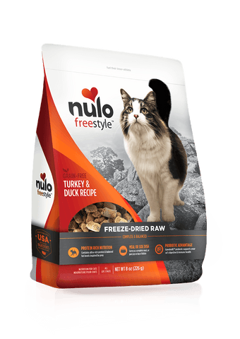 Freeze-Dried Raw Cat Turkey & Duck Recipe