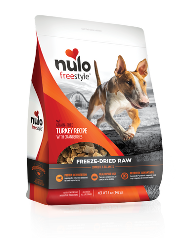 Freeze-Dried Raw Turkey Recipe with Cranberries for dogs - PetProductDelivery.com