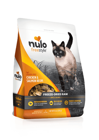 Freeze-Dried Raw Cat Chicken & Salmon Recipe - PetProductDelivery.com