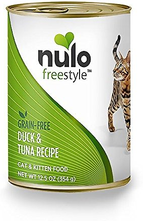 Freestyle Duck & Tuna Recipe cat cans