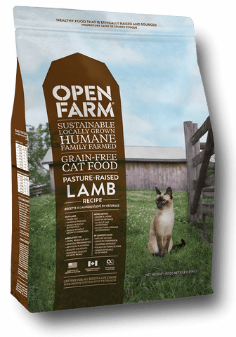 Pature Raised Lamb Recipe dry kibble for cats