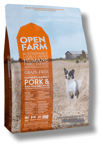Farmer's Table Pork and Root Vegetable Recipe dry kibble for dogs