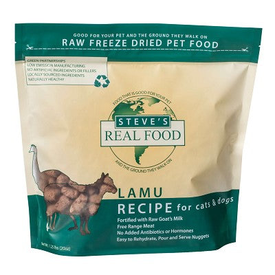 Freeze Dried Lamu Recipe for Dogs and Cat Foods