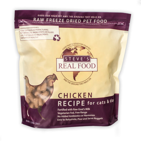 Freeze Dried Chicken Recipe for cats and dogs - PetProductDelivery.com