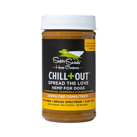 Chill+Out CBD Peanut Butter - PetProductDelivery.com