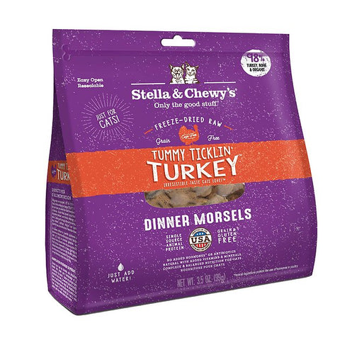Tummy Ticklin' Turkey Dinner Morsels for Cats