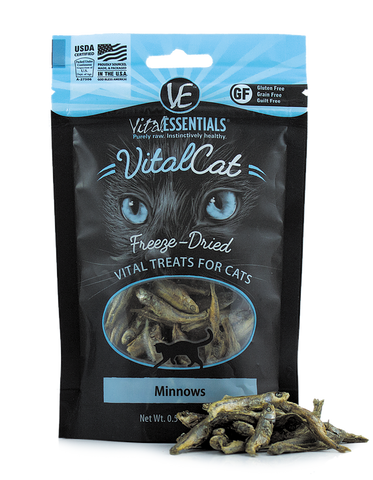 Freeze Dried Minnows for Cats