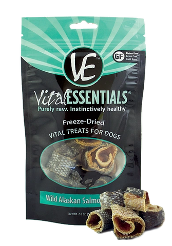 Wild Alaskan Salmon Rings Freeze-Dried Grain Free Treats, 2 oz.