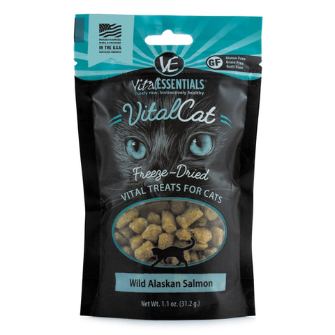 Wild Alaskan Salmon Freeze-Dried Treats, 1.1 oz - PetProductDelivery.com