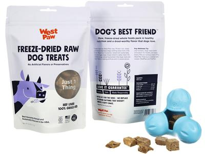Freeze-Dried Raw Dog Treats -Grass-Fed Beef Liver - PetProductDelivery.com