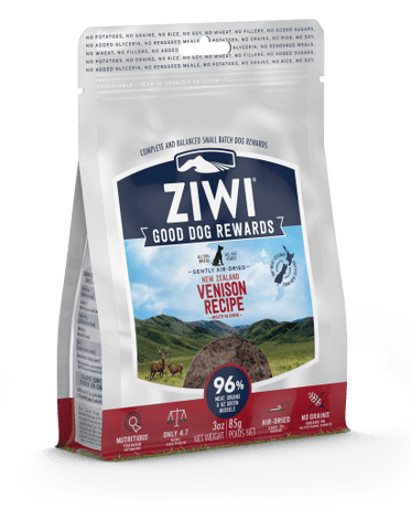 Good Dog Rewards New Zealand Venison Recipe