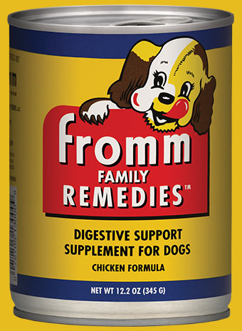 Digestive Support Supplement for Dogs 12.2oz. Chicken Formula / case of 12 cans