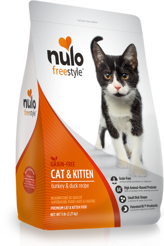 High-Meat Turkey & Duck Recipe dry kibble for cats and kittens