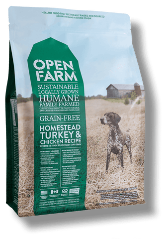 Homestead Turkey & Chicken Recipe dry kibble for dogs - PetProductDelivery.com