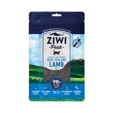Air-Dried Lamb for Cats