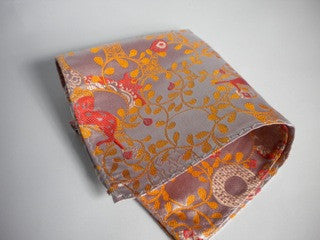 Apricot Horse pocket square