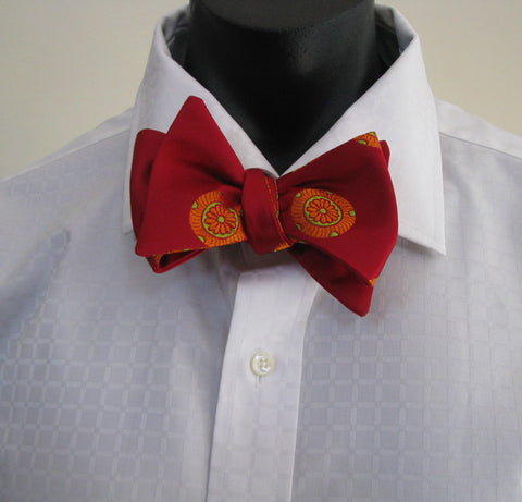 Red mon bow tie