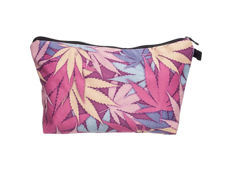 Jom Tokoy Leaf Makeup Bag