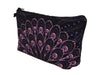 Jom Tokoy Purple Feather Makeup Bag