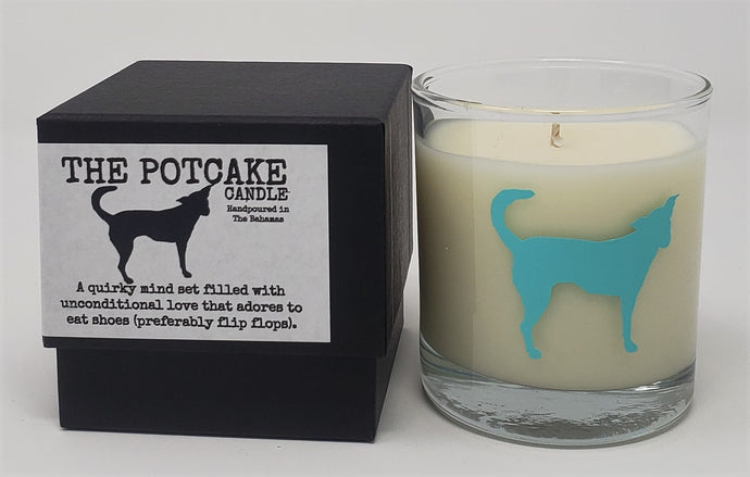 The Potcake Candle -