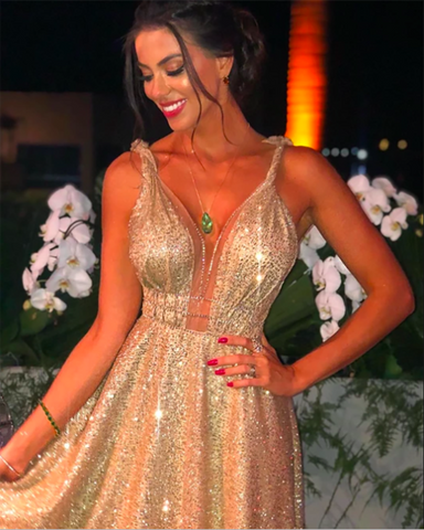 sequin evening dress 2020