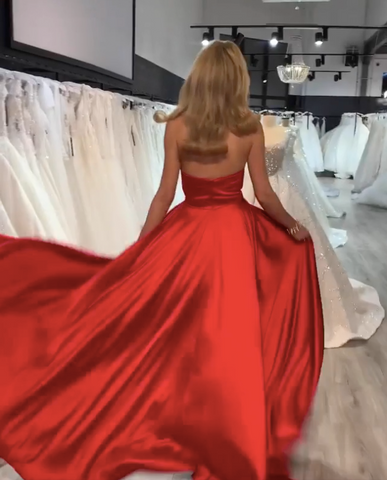Image of phylliscouture red prom dress
