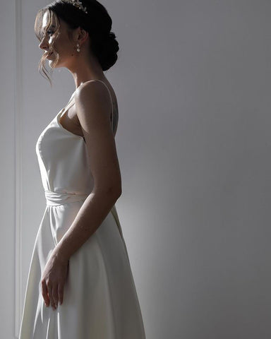 Image of phylliscouture beach wedding dress