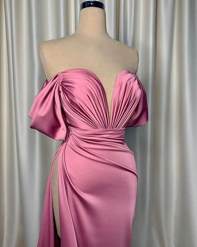 Image of phylliscouture pleated evening dress
