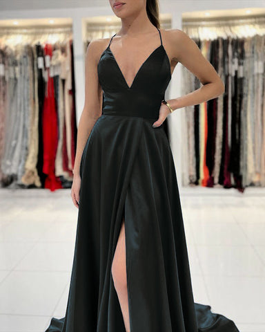 Image of phylliscouture black prom dress 2021