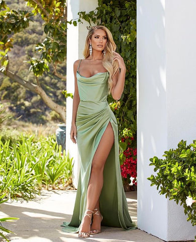 Image of phylliscouture sage prom dress 2021