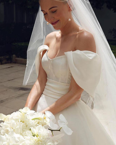 Image of phylliscouture organza wedding dress