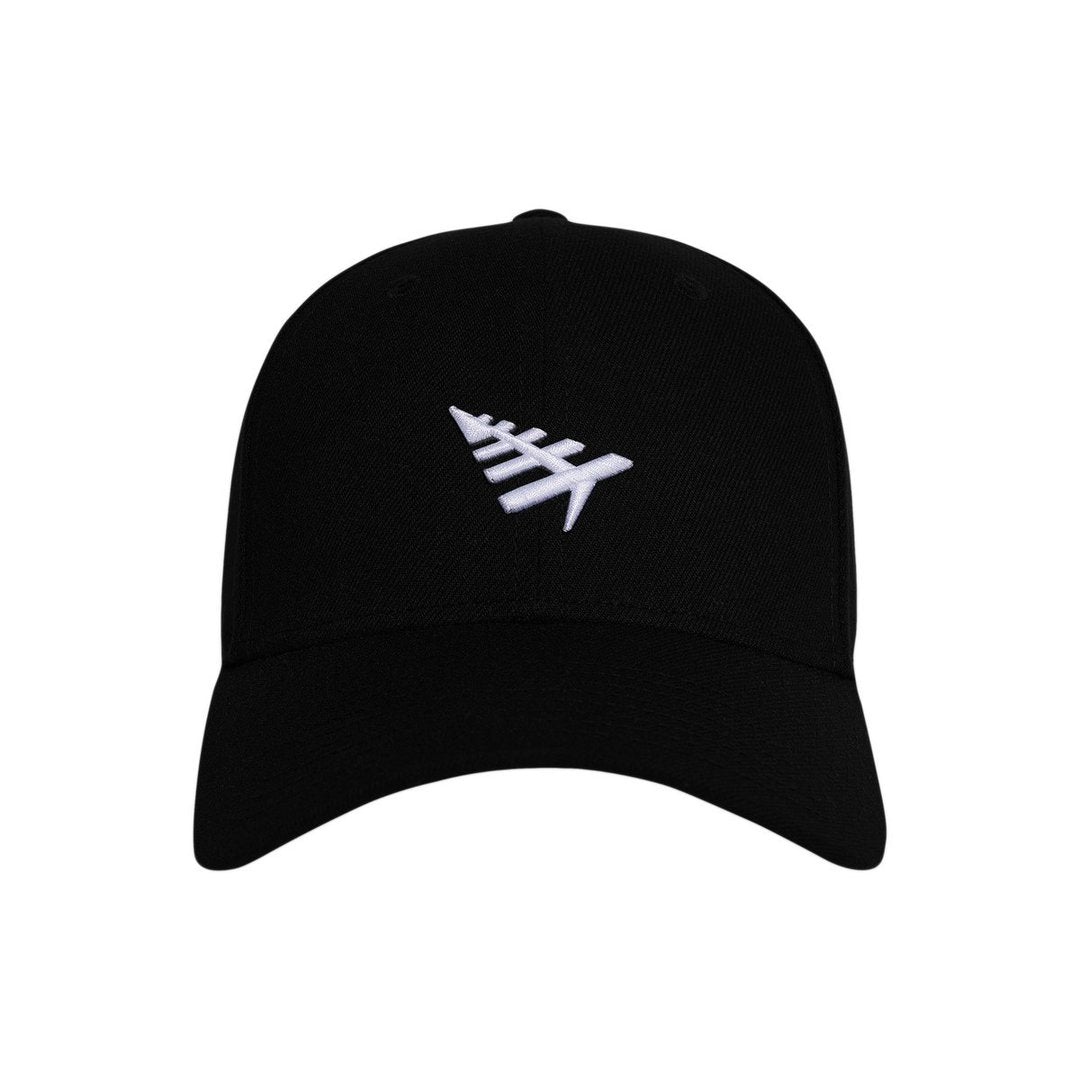 PAPER PLANES ICON II DAD HAT (BLACK)