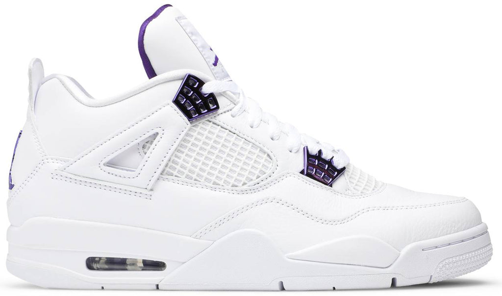 AIR JORDAN 4 RETRO 'METALLIC PURPLE'