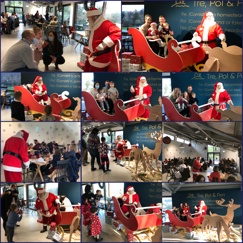 Santa visits are a fundraising success