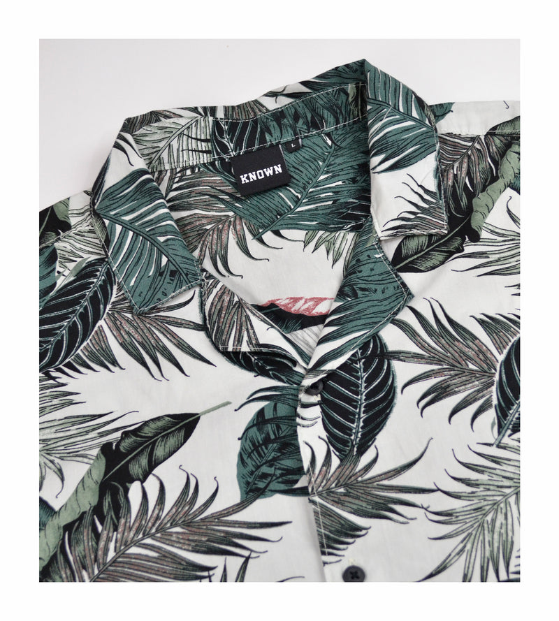 Maui Shirt - Palm Greens
