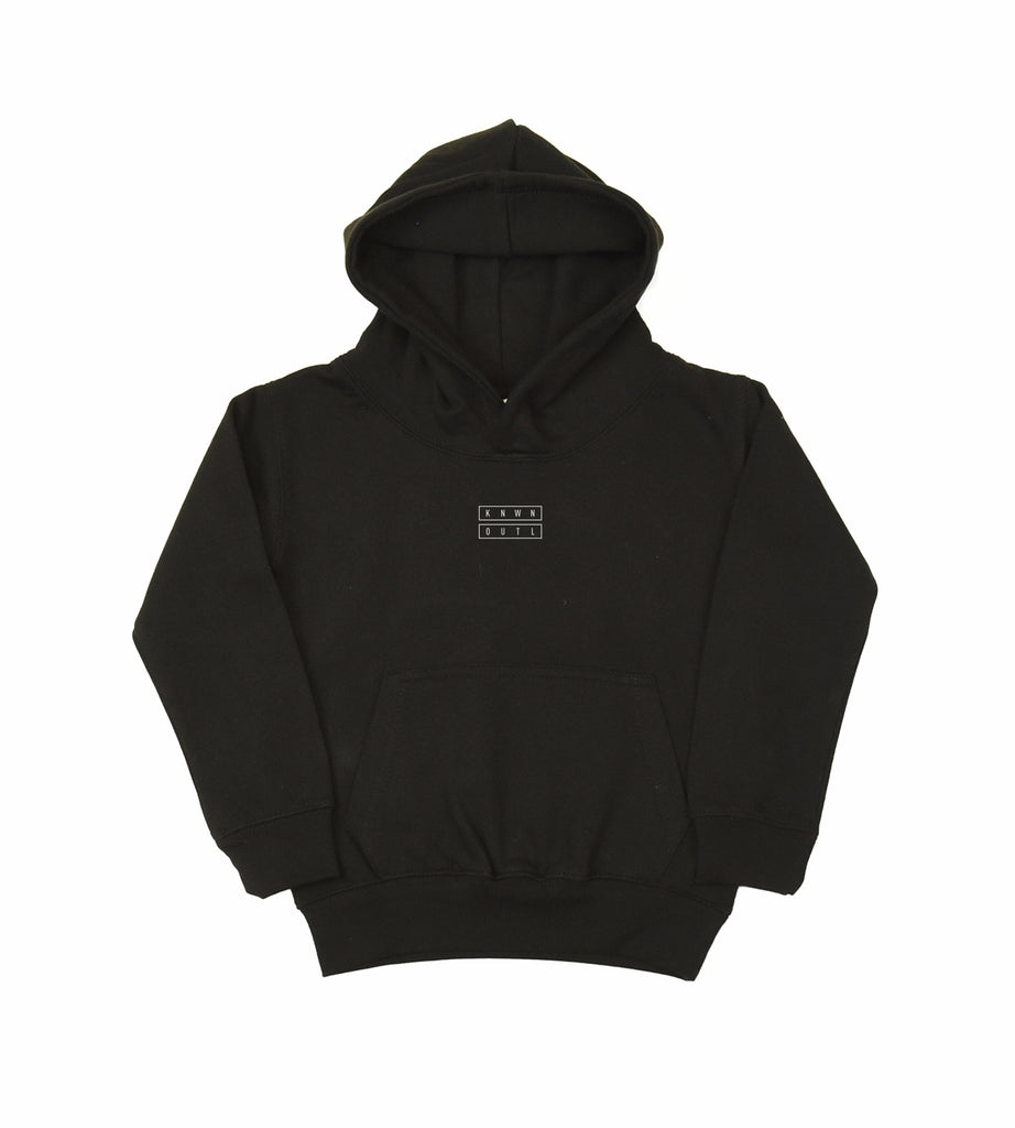 Kids Micro Outer Hood - Black