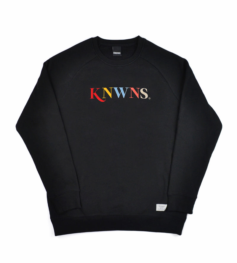 Knwns Classic Sweat - Black