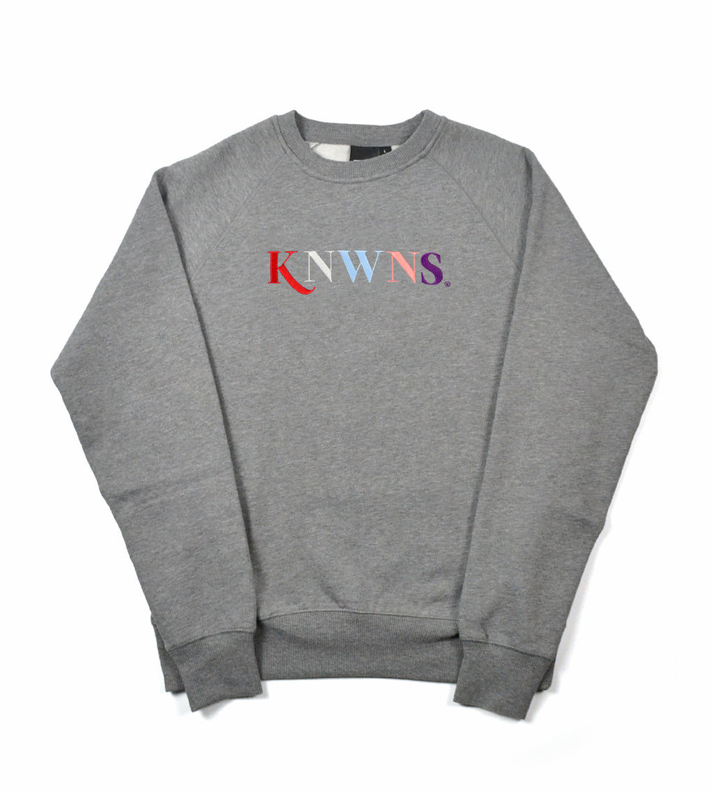 Knwns Classic Sweat - Grey