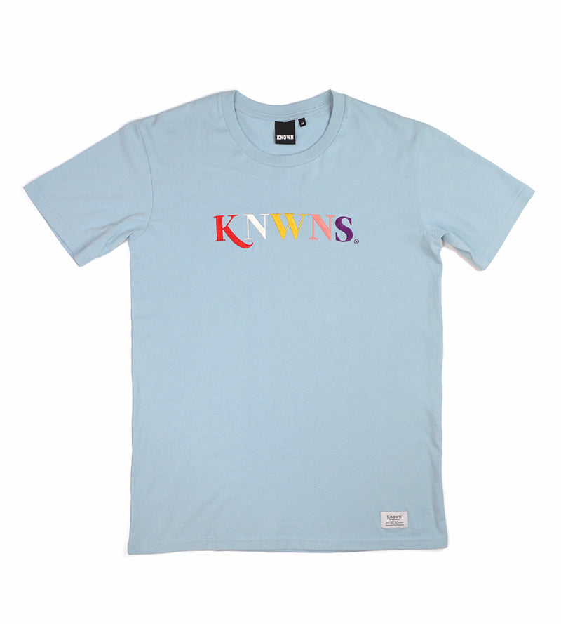 Knwns Classic Tee - Pale Blue