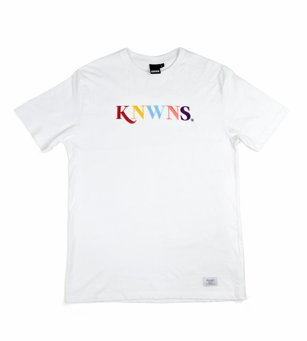 Knwns Classic Tee - White