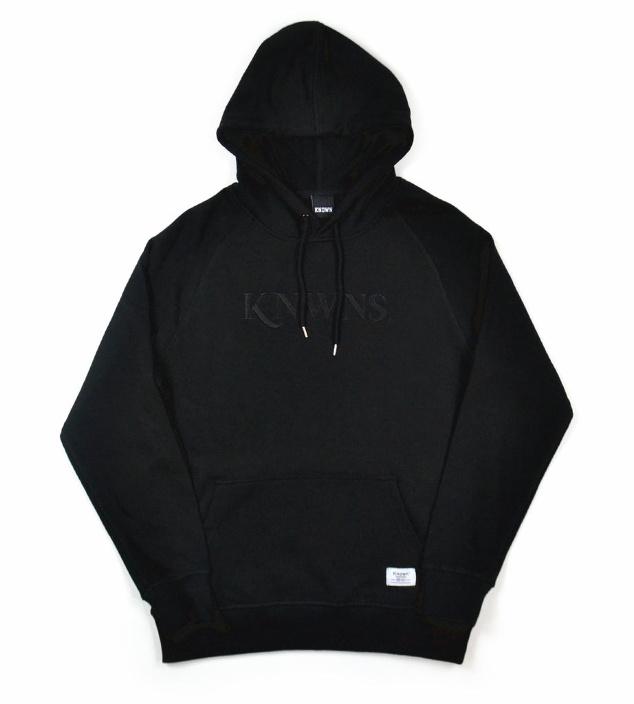 Knwns Tonal Hood - Black