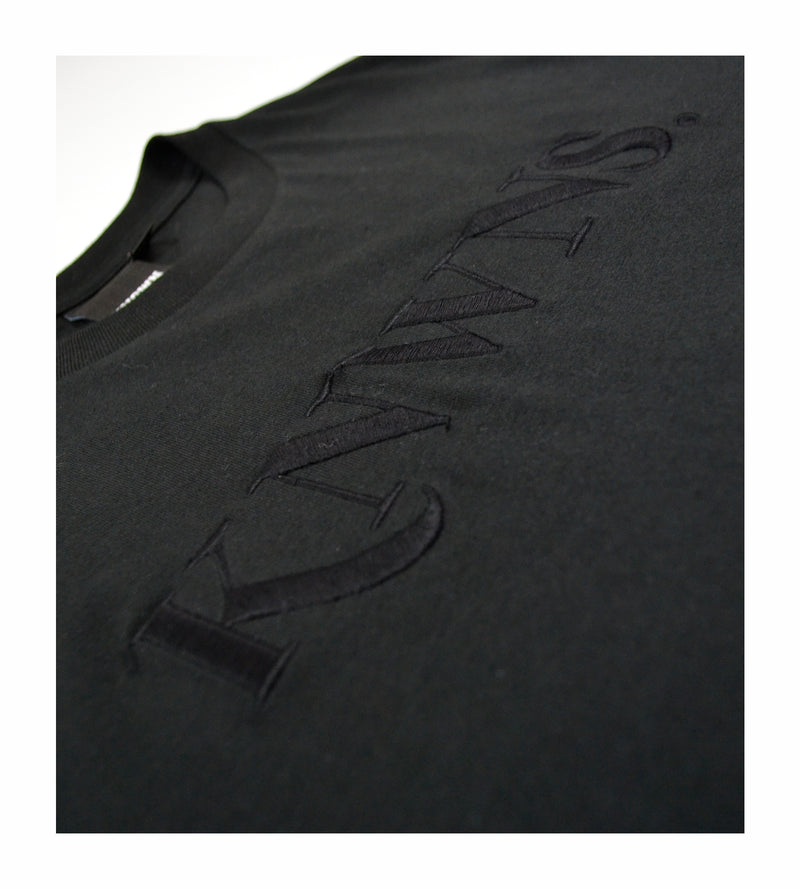 Knwns Tonal Tee - Black