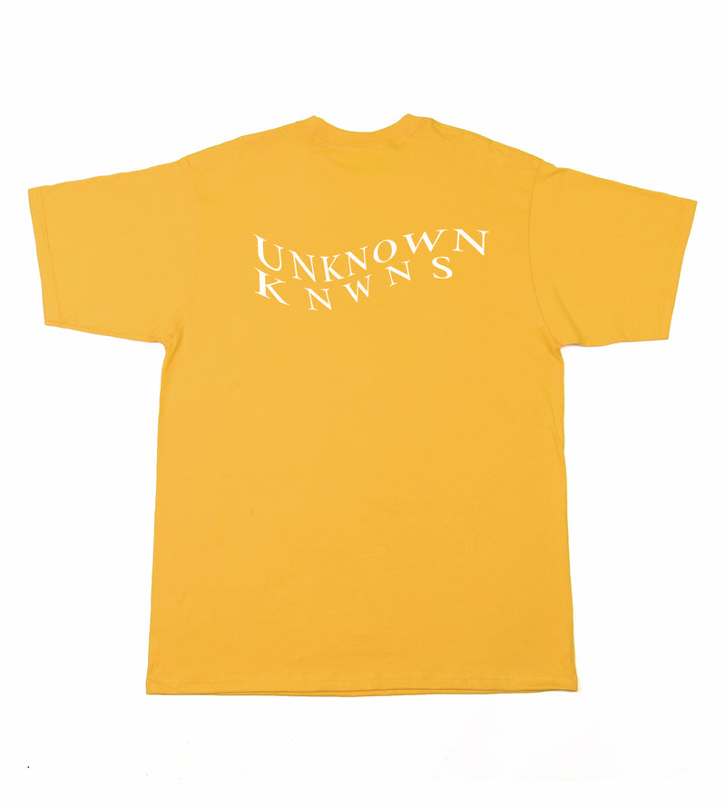 Waves Box Fit Tee - Yellow