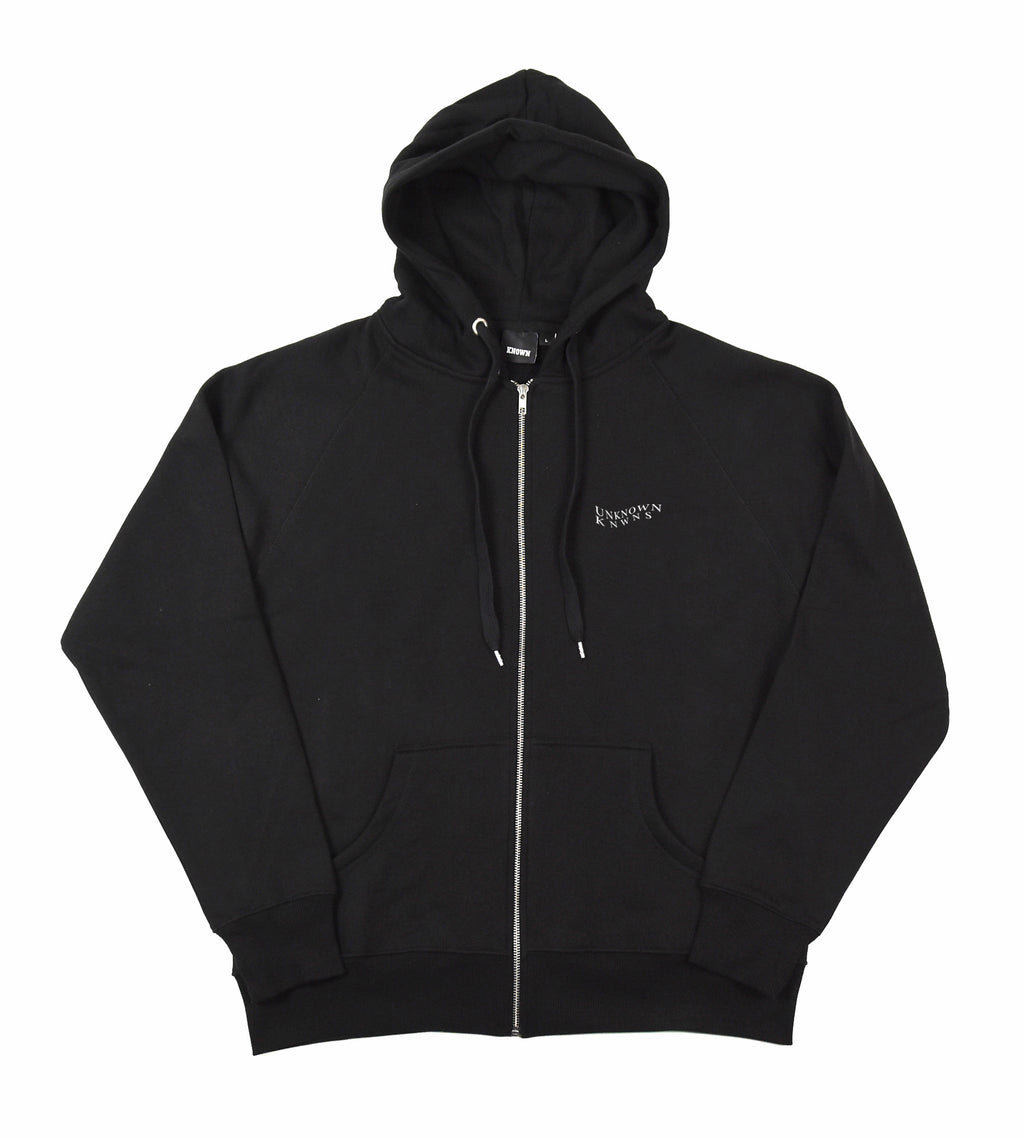 Waves Zip Hood - Black